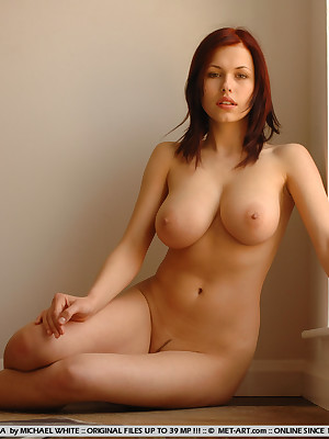 Short blonde women naked