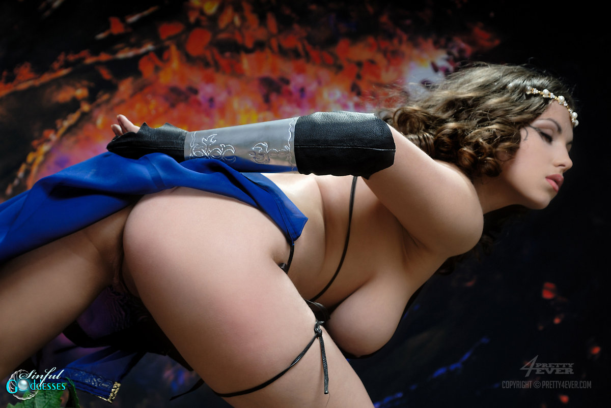 Female sexy warriors naked