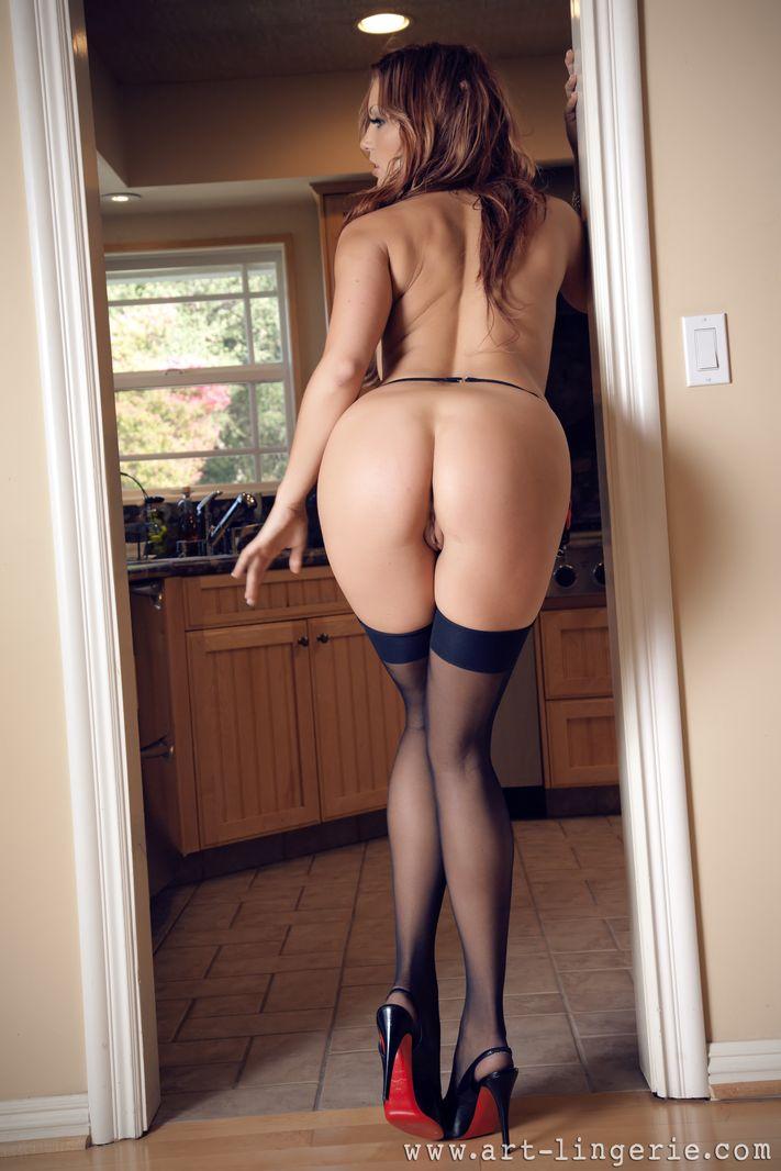 Lingerie ass porn pics