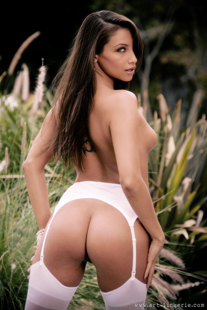 ass outdoor Beautiful naked