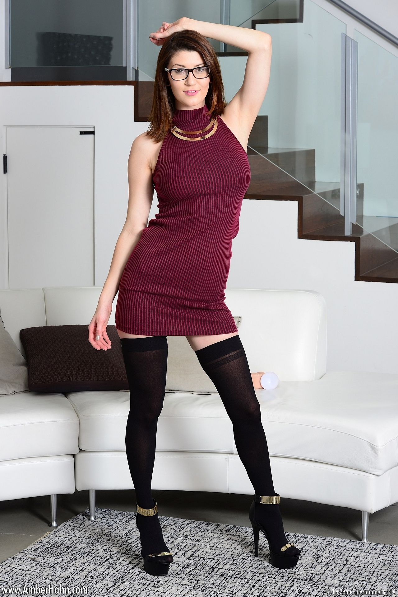 Ebony stocking porn