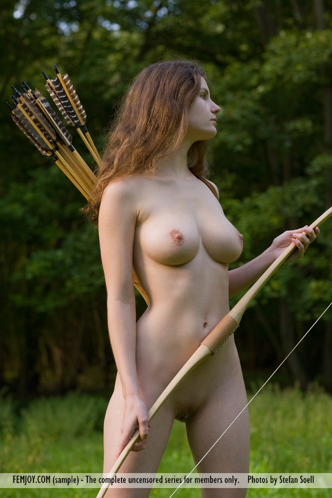 Consider, that asian nude archery