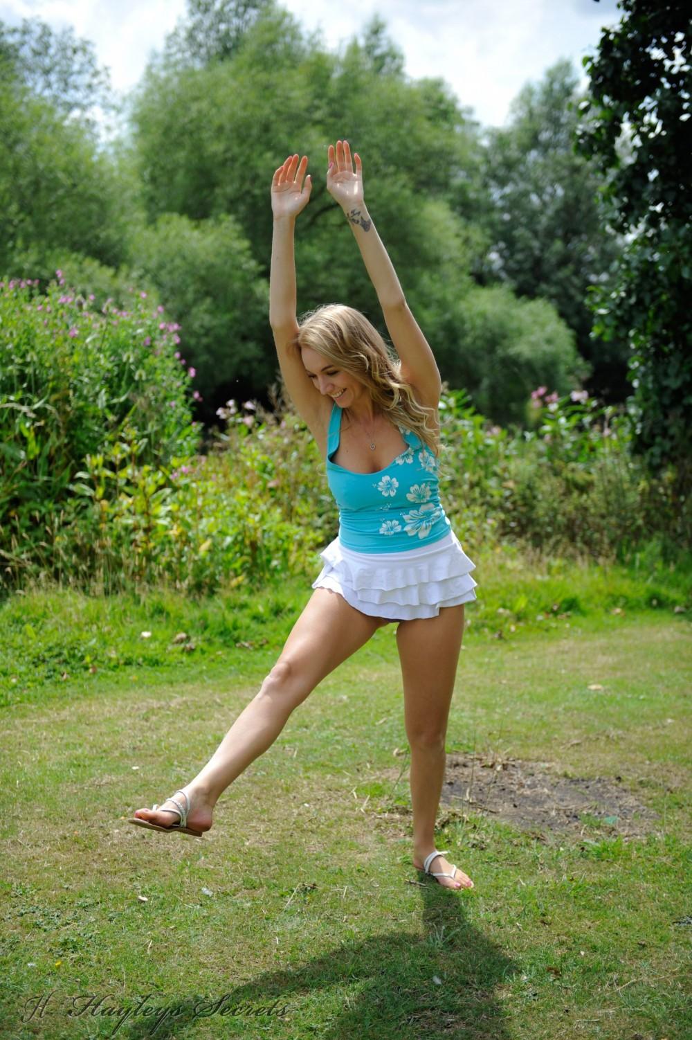 from Charles teenage girl nude cartwheels