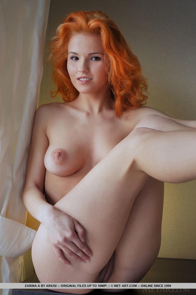 Ass cute redhead girl tight